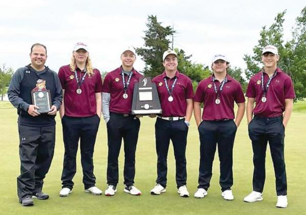 Cashion finishes 2nd in 2A boys golf team race