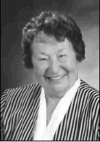 Phyllis Dean (Bamberg) Warner