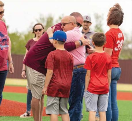 Cashion dedicates new baseball field