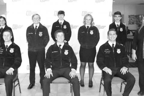 FFA officers take part in COLT conference