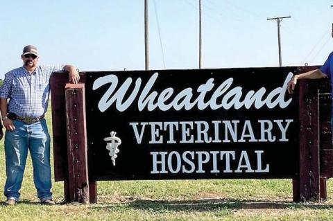 Dr. Matousek new face at Wheatland Vet