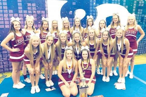 CHS cheer posts strong J&C camp