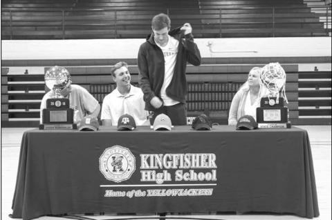 Kingfisher's Stone commits to UNT