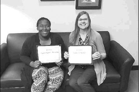 LIBRARIANS EARN CERTIFICATIONS