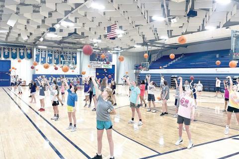 Learning B.E.E.F. at Basketball Camp