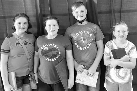 Lomega 4-H dairy judging team completes season, places in top-three at state contest