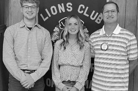 Noah Schaefer, Ally Stephenson named Junior Lions for October