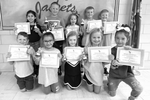Gilmour Elementary Students of the Month