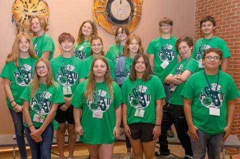 KHS STUDENTS ATTEND SWOSU 66th BAND CAMP