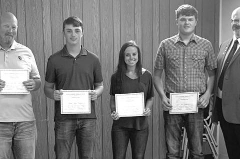Elks Lodge makes annual scholarship presentations