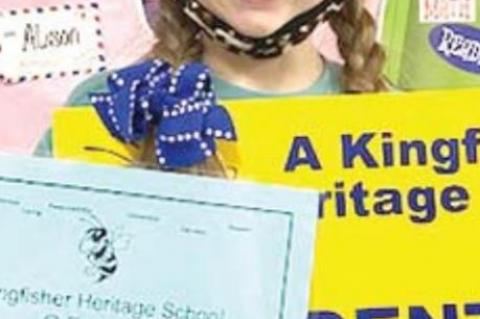 Heritage Elementary School Students of the Month
