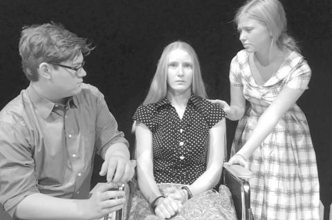 Okarche one-act play cast makes bid to qualify for state at Leedey regional