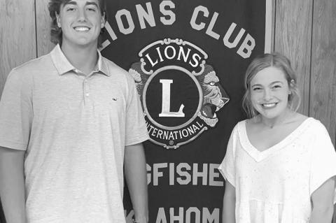 Taylor, Daugherty are October Junior Lions