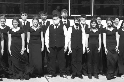 KMS choral members 'Superior' and 'Excellent' at OSSAA contests