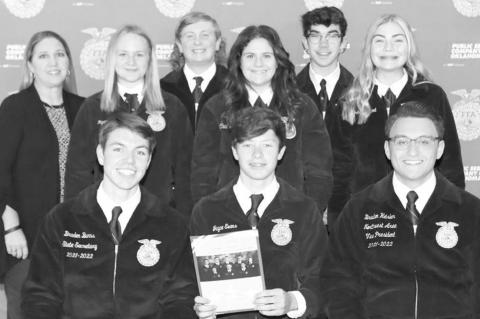 County FFA chapters attend COLT conference
