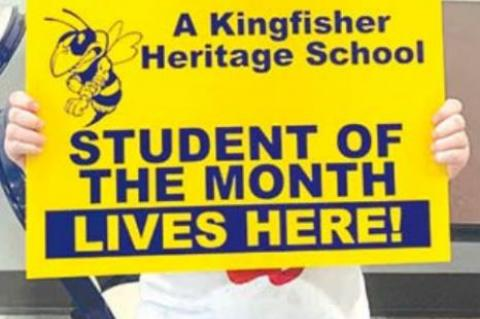 HERITAGE ELEMENTARY STUDENTS OF THE MONTH