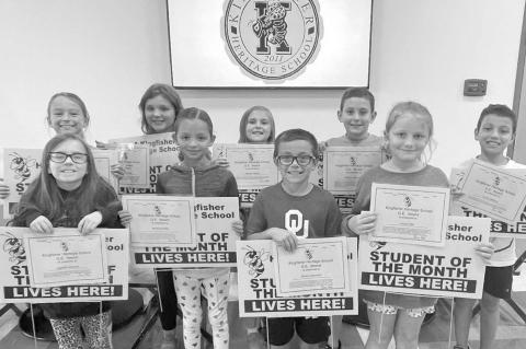 Heritage School names Students of the Month