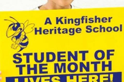 HERITAGE STUDENTS OF THE MONTH