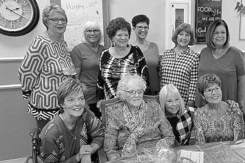 Alice Mapel turns 100 in style