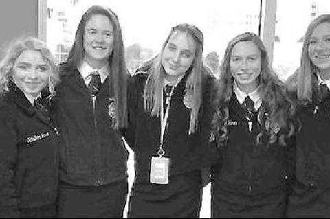 Okarche FFA attends conference, Christmas party