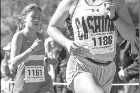 Cashion's Taylor gets All-State finish in 2A