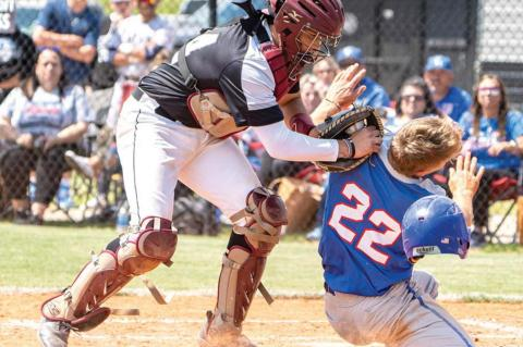 Rebel bats too much for Cashion in 2A quarters