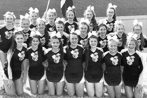 KHS cheer 4th at Game Day state
