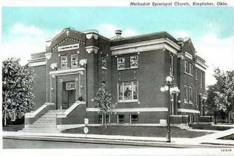 Methodist Church - Postcard