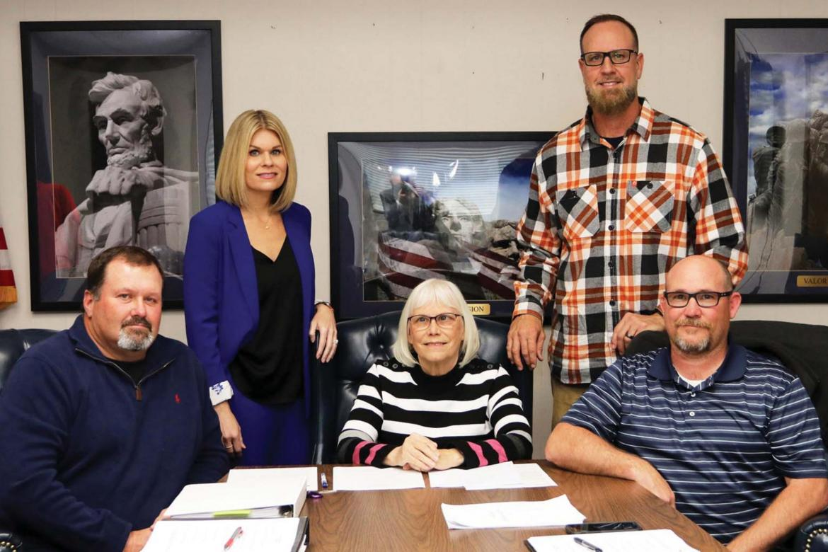 KPS Board reorganizes after seating new member