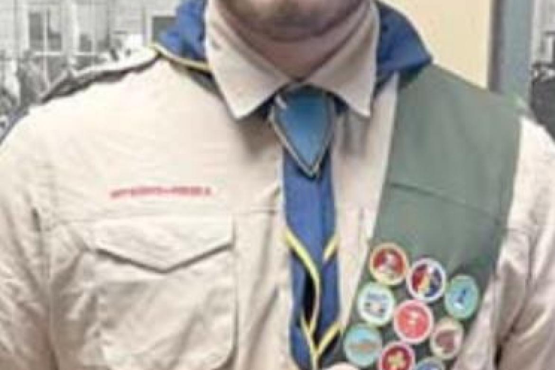 Fahlenkamp earns highest Scout honor